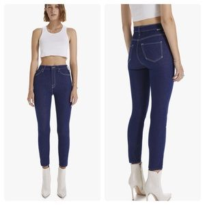 Mother The Swooner Ankle Jeans in Ooh La La